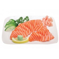 Menu Sashimi Saumon